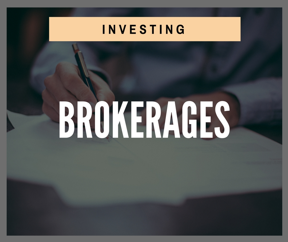 Product - Investing - Brokerages