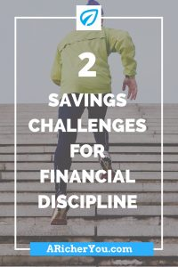 Pinterest - 2 Savings Challenges for Financial Discipline