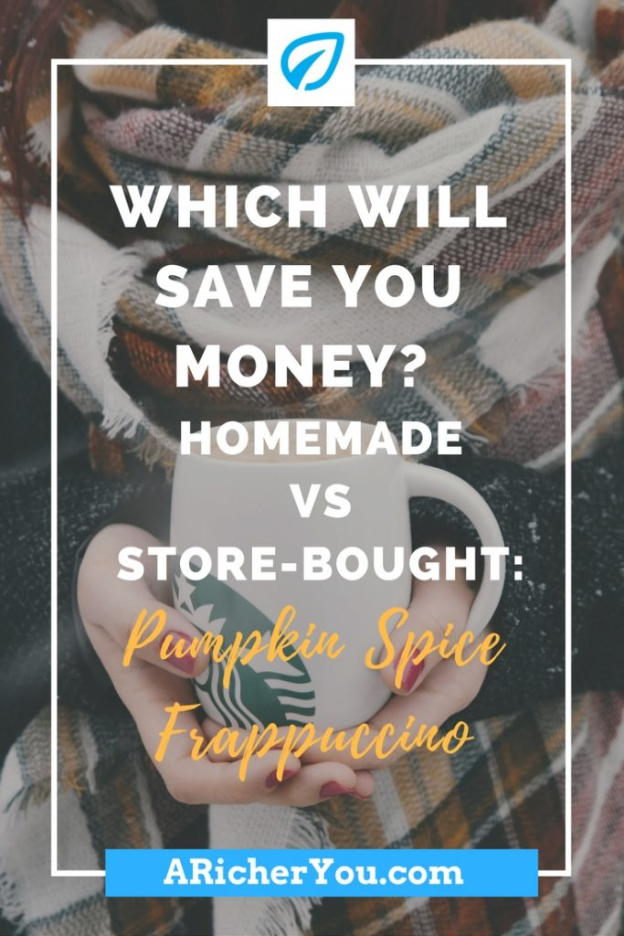 Pinterest - Which Will Save You Money_ Homemade vs Store-Bought_ Pumpkin Spice Frappuccino