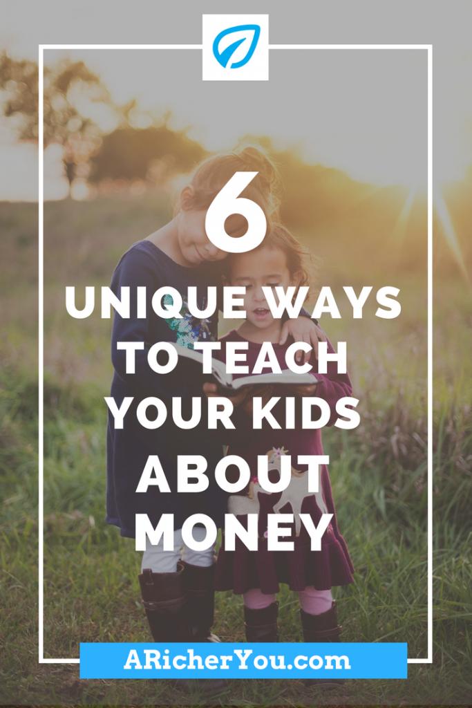 Pinterest - 6 Unique Ways to Teach your Kids About Money